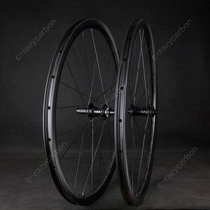 Image 4 - 700C Aero באיכות גבוהה מלא 32mm גומת חן חצץ גלגלי אופני Cyclecross CX מרוצי נימוק מכריע ללא פנימית משלוח חינם