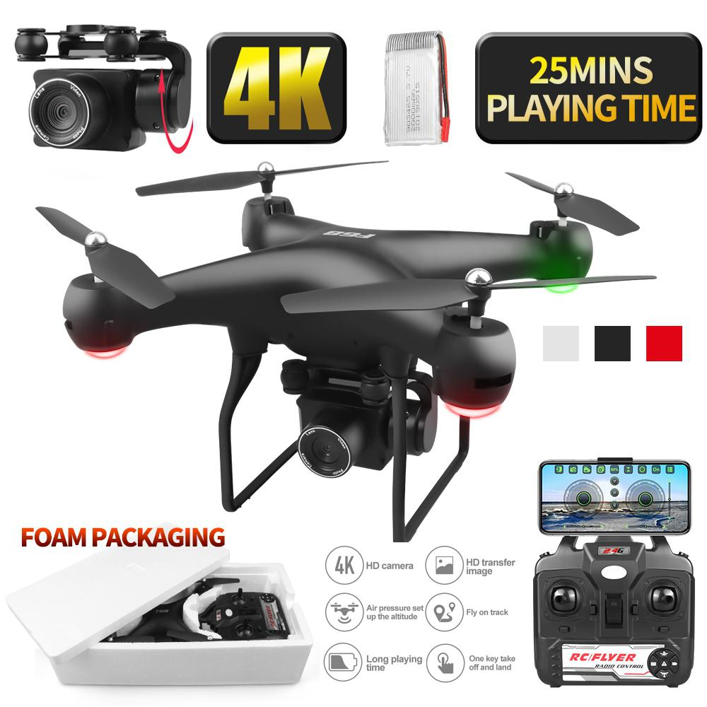 RCtown Drone 4k RC Quadcopter Dron With HD 1080P Wifi Camera Video Highly Stable Rc Helicopter F68 Drones