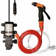 Car Care Cleaner Washing Electric Moto Cleaning Auto Device DC 12V Car Wash Machine Portable High Pressure Car Washer Gun Pump