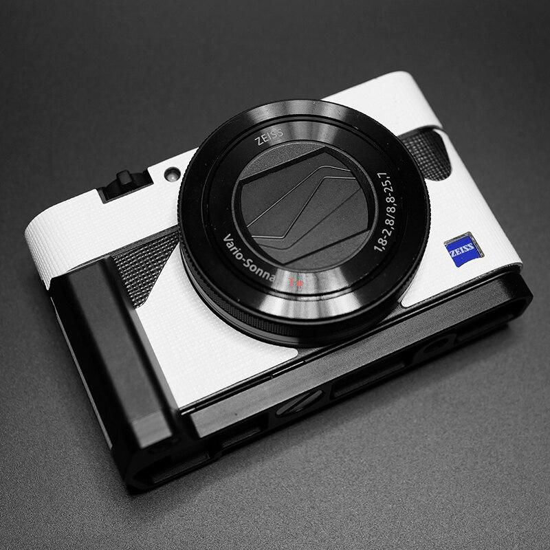 Couro Câmera RX100VL Decoração Adesivo Para Sony RX100 Rx100III Rx100ii Rx100M3 M4 M5 M6