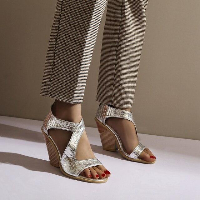 Купить doratasia/пикантные женские босоножки с круглым носком; модные картинки