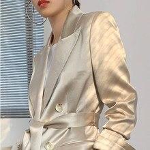 Traje a la moda para mujer, chaqueta, ropa de verano, traje para entrevista de negocios, ropa de trabajo, fiesta de oficina