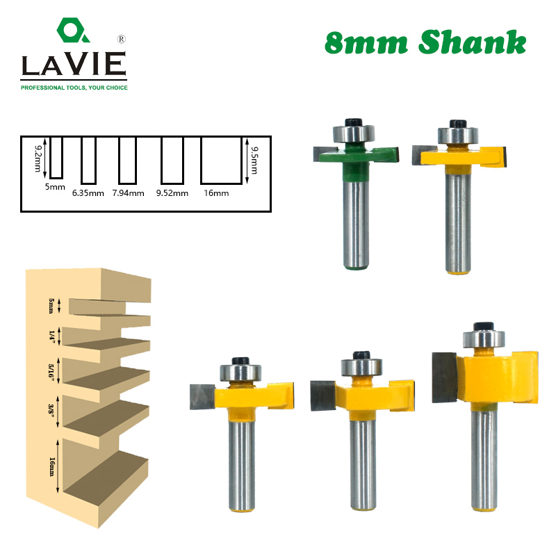6 Types Roman Ogee Groove Cutter// Template Flush Trim// Core Box Router Bits