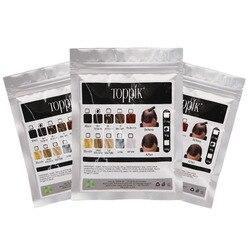 100g toppik recarga saco de fibras de construção de cabelo recarga produtos de perda de fibras de cabelo queratina peruca instantânea rebrota pós atacado