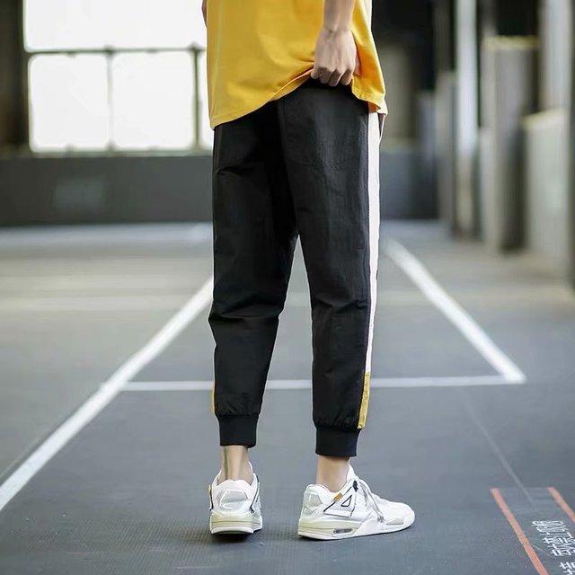 2020  Hip Hop Sweatpants Men Streetwear Fitness Pants Casual Black Dark Grey Joggers Sweatpants 17