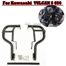 Cage-Protector Highway-Bumper Engine-Guard-Crash-Bars Stunt Kawasaki Vulcan Motorcycle