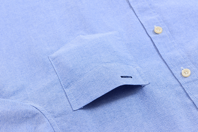 Men's Casual Dress Shirts 100% Cotton Oxford Slim Fit Camisas Masculina Button Down Collar Short Sleeve Male Blouse