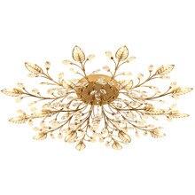 Avize lustre de cristal iluminação interior lustres teto brilho para sala estar quarto cozinha luminária luzes