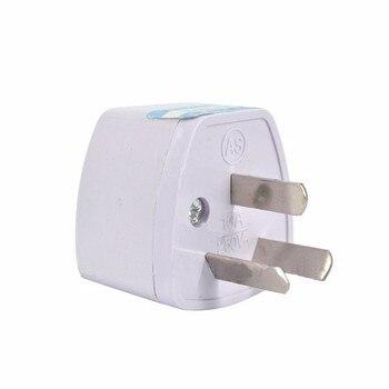 цена на Universal 3Pin AU NZ Power Plug Adapter 3 pin New Zealand Australia Travel Plug US/UK/EU to AU/NZ Plug Converter