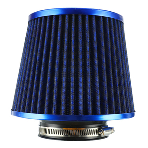 Image 2 - New Car Air Filter Performance High Flow Cold Intake Filters Induction Kit Sport Power Mesh Cone 55MM to 76MM Auto Accessories
