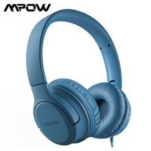 Mpow CHE2 أطفال سماعات أذن بأسلاك ستيريو صوت فوق سمّاعة أذن خفيف الوزن قابل للطي سماعة أذن لأجهزة لوحية PC Online Class