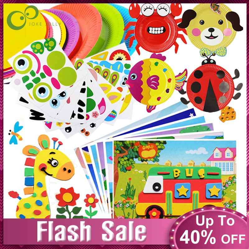 EVA Sticker Educational-Toys Handmade Toys Art-Craft Kindergarten Kids Children 3d Diy