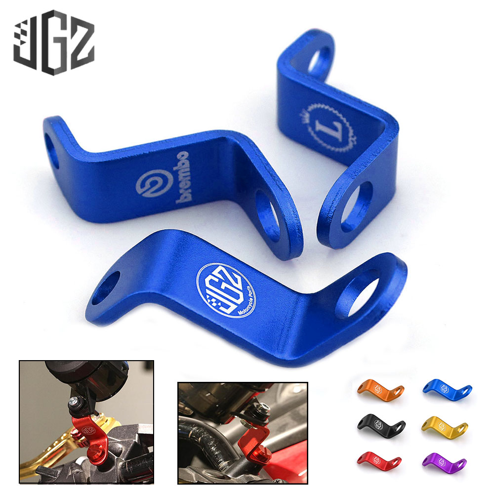 Motorcycle Accessories Rearview Mirror Mount Extender Bracket Holder Clamp Bar Oil Cap Holder Levers Extension Stands Support