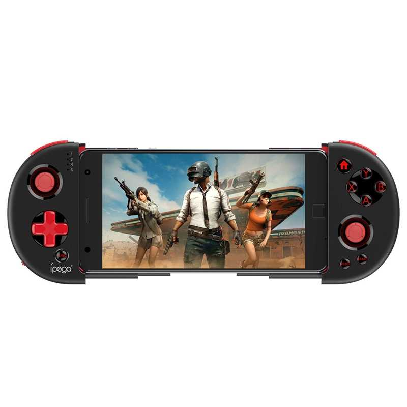Ipega Pg-9087S Gamepad Bluetooth inteligente, controlador de juego, Gamepad inalámbrico extensible, Tubro Joystick, juego de consola para Smart Tv/ Pho
