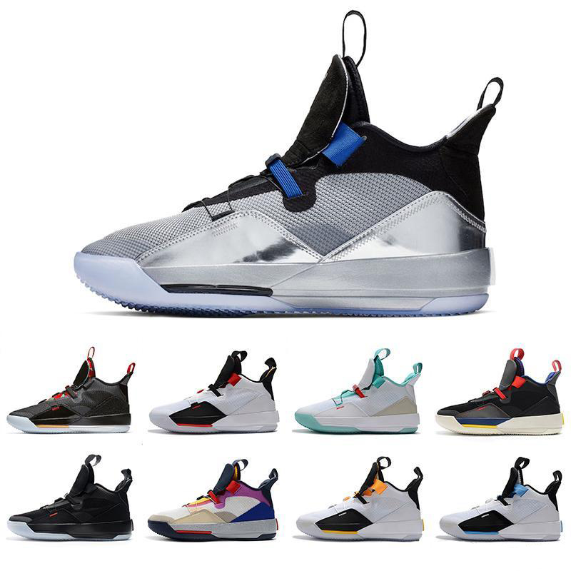 2019 New Best Jumpman XXXIII Retro 33 Basketball Shoes Mens MVP Finals training Sneakers Sports Running Shoes Size 7-12