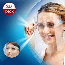 Masque de protection pour le visage, 20 pièces, pour adultes, Anti-buée, huile, F8