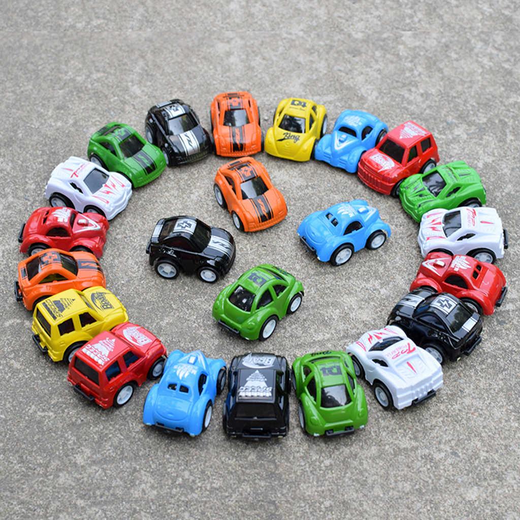 Mini Pull Back laisser aller véhicules de course de voiture de course rapide pour enfants enfants cadeau