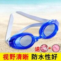 Anti fog Transparent Goggles Adult Students Industry Swimming Waterproof Anti fog Clear Men Women's Diving Glasses Óculos de segurança     -