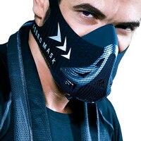 Fdbro esporte máscara de treinamento esportes máscara 3.0 corrida para fitness gym workout resistência elevação cardio resistência respiração|Másc.| |  -