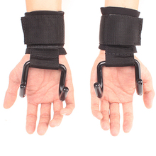 Glove Weight-Lifting-Hook Lifting-Straps Gym Training Hand-Bar Strength