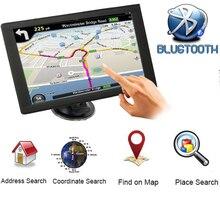 Автомобильный gps-навигатор автомобильные аксессуары 9 дюймов конденсатор HD FM Bluetooth 256BM спутниковый голосовой автомобильный навигатор Navitelk грузовик gps Naviga