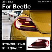 Vw ビートル用カースタイリングテールライト 2013-2019 ハロゲン信号テールランプ LED テールライト DRL ブレーキリバース自動車の付属品