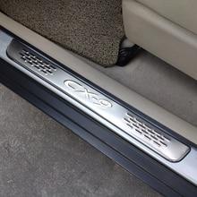 Für Auto Mazda Cx9 2007 2009 2010 2012 2015 Zubehör Aufkleber Tür Sill Edelstahl Protector Abdeckung Trim Scuff Platte Auto styling