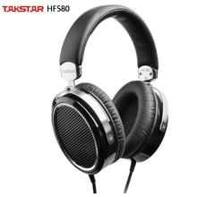 Takstar HF 580/HF580 Hi Fi מישוריים אוזניות במיוחד גדול מישוריים סרעפת עיוות נמוכה עוצמה LF מלא MF שקוף HF
