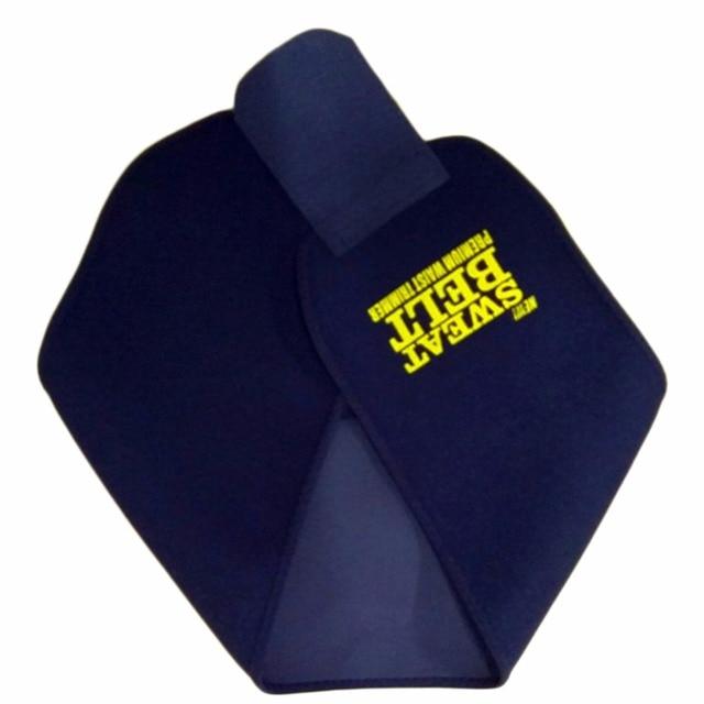 Adjustable Waist Tummy Trimmer Slimming Sweat Belt Fat Body Shaper Wrap Band Weight Loss Burn Exercise Men Women Belly Dropship 4