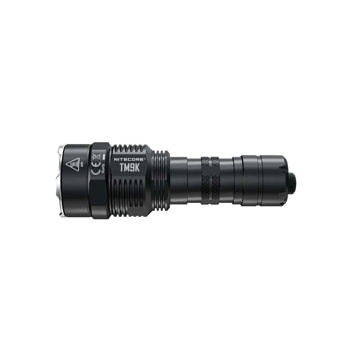 Image 4 - NITECORE TM9K Tactical Flashlight 9 XP L HD V6 LEDs max 9500 Lumen throw 268M built in 21700 5000mAh battery USB Charging TorchFlashlights & Torches   -