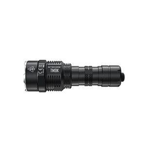 Image 4 - Nitecore tm9k lanterna tática 9 XP L hd v6 leds max 9500 lúmen jogar 268 m built in 21700 5000 mah bateria tocha de carregamento usb
