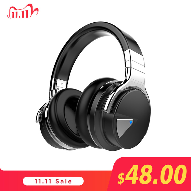 Originele Cowin E7 Anc Bluetooth Hoofdtelefoon Draadloze Bluetooth Headset Oortelefoon Voor Telefoons Active Noise Cancelling Hoofdtelefoon