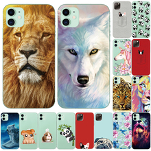 Case Dog-Wolf-Case Hamster iPhone Xs Funda Tpu-Cover Cool-Animals for Lion Panda 11pro