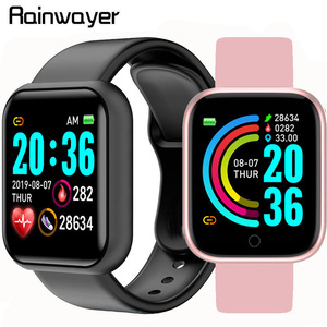 Y68 D20 Smart Watch Waterproof Bluetooth Blood Pressure Fitness Tracker Heart Rate Monitor Smartwatch For Apple IOS Android