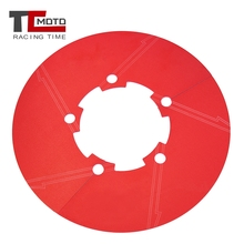 цена на TCMOTO CNC Aluminum Motorcycle Rear Wheel Sprocket Chain Rotation Gear Cover Guard For Benelli TNT600 BJ600GS BN600