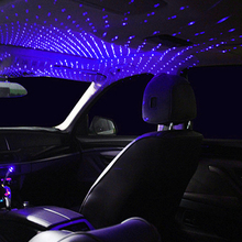 Light Interior Projector Auto-Decoration Starry-Laser Ambient Car-Roof-Star Atmosphere