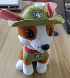 25cm Big Size Paw Patrol Puppy Tracker Stuffed & Plush Animals Toys For Children Christmas Birthday Gift