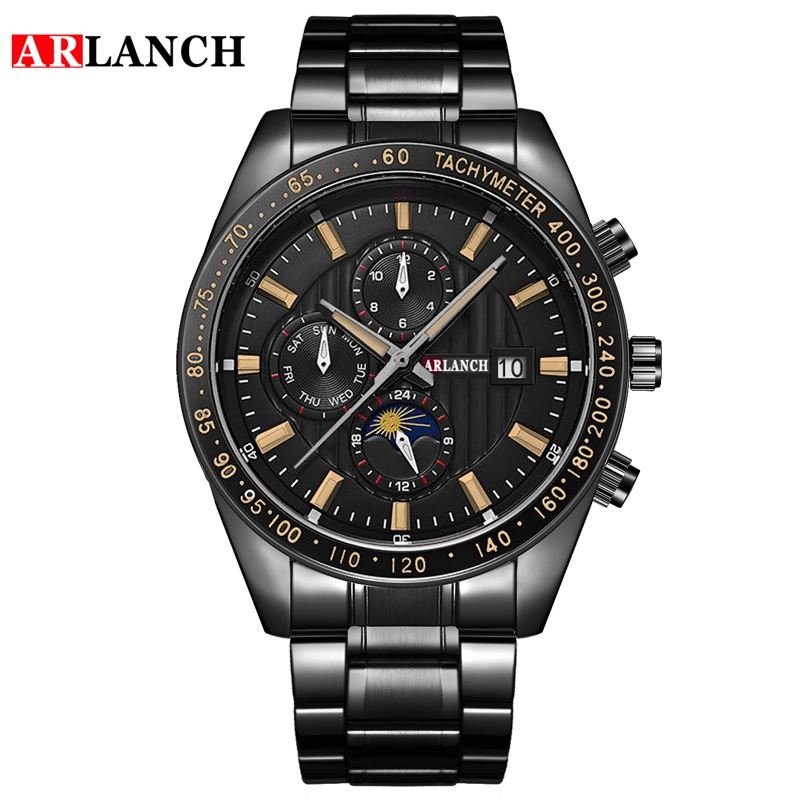 Купить часы наручные arlanch мужские кварцевые модные брендовые спортивные
