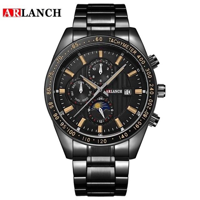 Купить часы наручные arlanch мужские кварцевые модные брендовые спортивные картинки цена