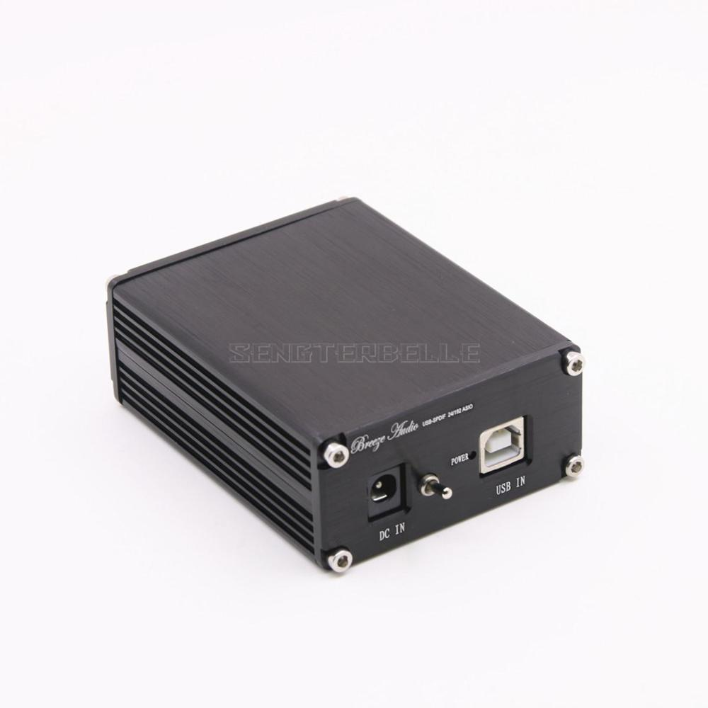 HiFi Audio CM6631 24Bit/192KHz Asynchronous USB to Coaxial+Optical Mini <font><b>DAC</b></font> Decoder image