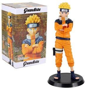 Image 5 - Anime Naruto rakamlar Uzumaki Naruto Uchiha Sasuke Hatake Kakashi Grandista koleksiyon Model oyuncaklar