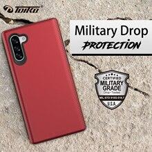 TOIKO X Protezione Dual Layer Antiurto Copertura Del Telefono di Caso per Samsung Galaxy Note 10 Nota 10 Più Molle di TPU Duro PC Rugged Armatura Shell