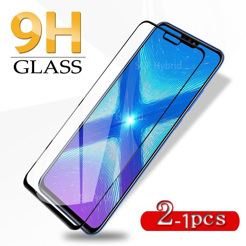 Pour Huawei Honor 8X verre trempé antichoc couverture complète verre de protection de sécurité pour Huawei Honor 8X 8 X Honor8x X8 Honer Huawey
