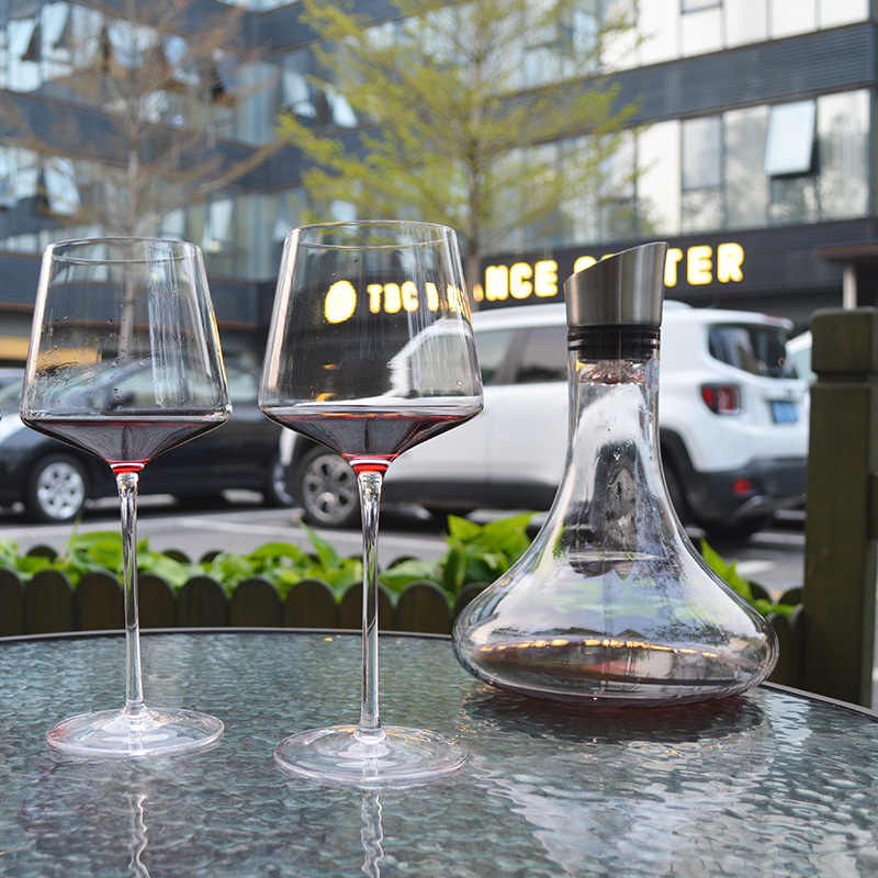 Kristall Isolierte Wein Glas Tasse Becher Weinglas weinglas Gläser Champagner Flöten Gläser Weingläser Kreative Wein Glas Küche