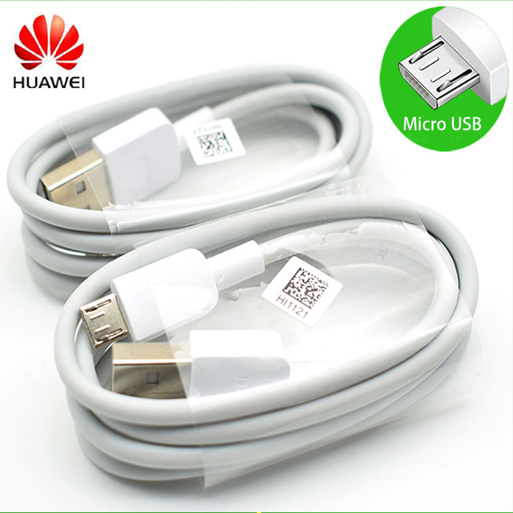 Оригинальный кабель Micro USB HUAWEI с поддержкой быстрой зарядки 5 В/9 В, 2 А, для путешествий, для HUawei P7 P8 P9/P10 Lite Mate 7 8 s Honor 8X 8C