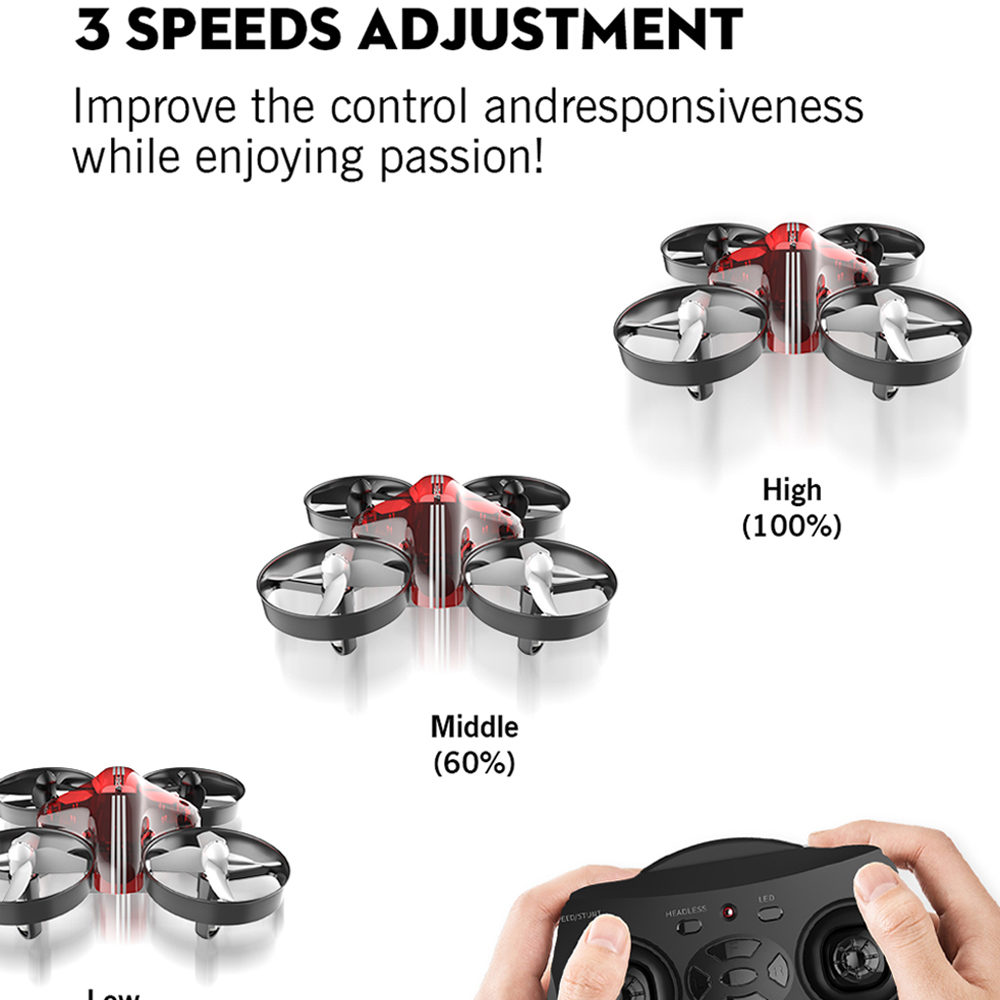 APEX Mini Drone RC Quadcopter Racing Drones Headless Mode With Hold Altitude Plan Remote Control Aircraft Toys Dron Best Gift 1