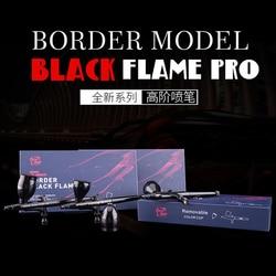 Nieuwe Aanbieding Speelgoed Militaire Gundam Vergadering Miniatuur Spray Verf Grens Black Flame Airbrush Model Hobby Schilderen Gereedschap