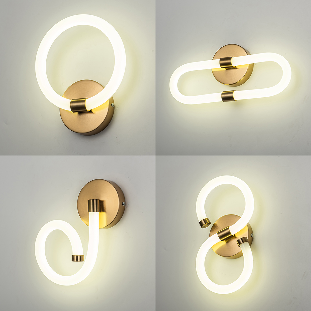 Modern Minimalist Creative LED Wall Sconce Lamp Indoor Wall Lamps