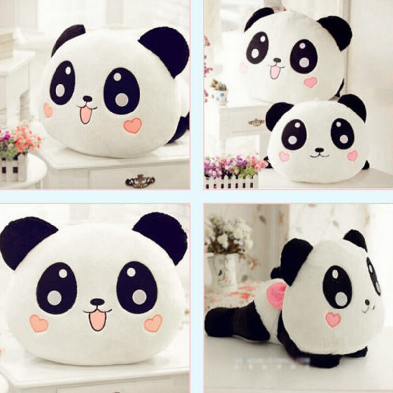 Panda Pillow Toy Cute Stuffed Animal Plush Soft Toys 20cm Doll Kids Baby Gift 2019