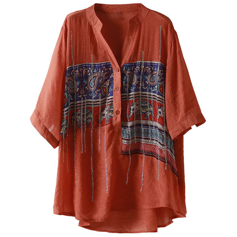 Plus Size Women Spring Summer Chiffon Blouses Shirts Lady Casual Short Sleeve Turn-down Collar Chiffon Blusas Tops DD8913 9